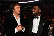 """Paul McCartney On Co-Writing """"FourFiveSeconds"""": """"I Was Tootling Around On Guitar, And Kanye Spent A Lot Of Time Just Looking At Pictures Of Kim"""""""