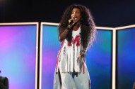 SZA Performs And Gives Speech At Her New Jersey High School