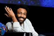 "Donald Glover Does Surprise Performance Of ""This Is America"" At Chance The Rapper's OpenMike Chicago"