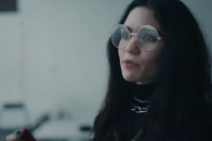"Grimes Stars In Apple Commercial Featuring Her New Song ""That's What The Drugs Are For"""