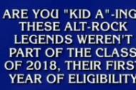 Radiohead Were A <em>Jeopardy!</em> Answer Again, But No One Got It