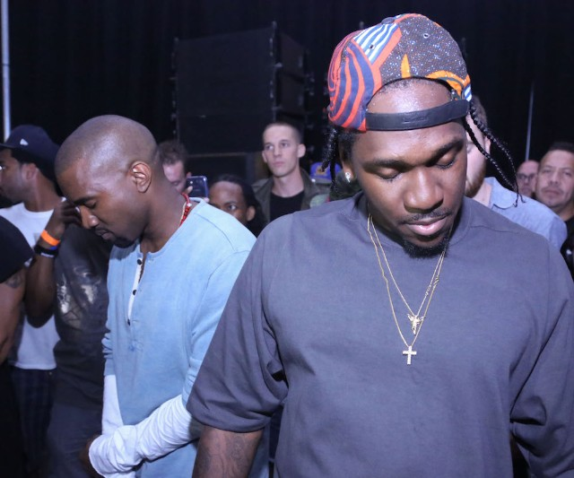 Kanye West Calls For An End To The Drake & Pusha T Feud