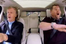 Paul McCartney & James Corden