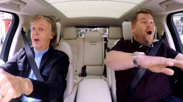 The Beatles Polska: Carpool Karaoke z Paulem McCartneyem najpopularniejszym video w UK