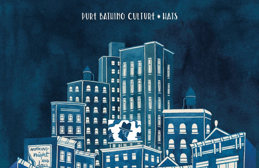 """Pure Bathing Culture & Ben Gibbard – """"Saturday Night"""" (The"""
