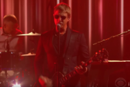 "Watch Interpol Play ""The Rover"" On <em>Colbert</em>"