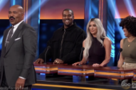 Watch Kanye West On <em>Family Feud</em>