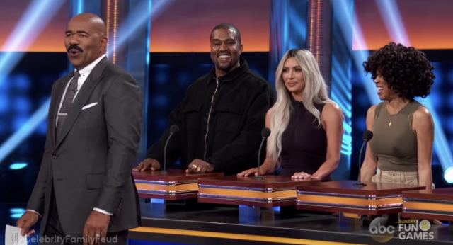 Family Feud' With Kim Kardashian & Kanye West: Watch - Stereogum