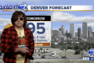 Watch Ryan Adams Do The Weather On Denver 7 News