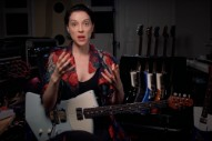 Watch St. Vincent Talk About Designing Her New Signature Guitar