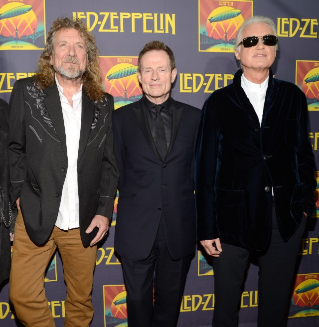 Led Zeppelin Reunite (For Book) - Stereogum