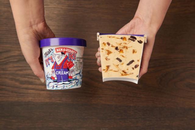 Ben & Jerrys Phish Ice Cream
