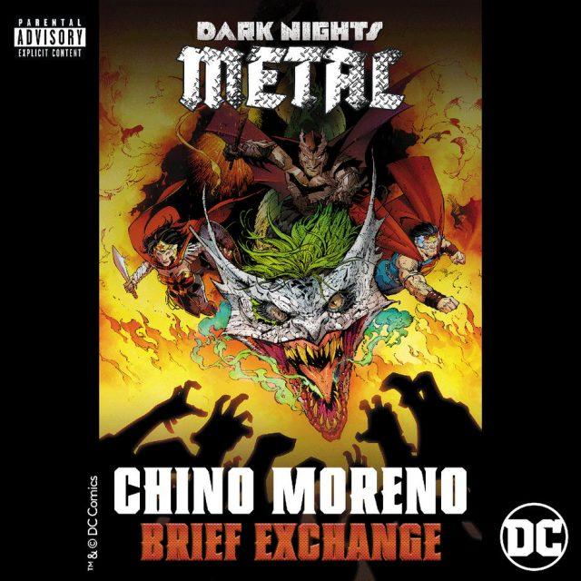 Chino Moreno DC Comics