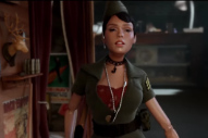 Watch A Miniaturized Janelle Monáe In The Fantastical Trailer For <em>Welcome To Marwen</em>