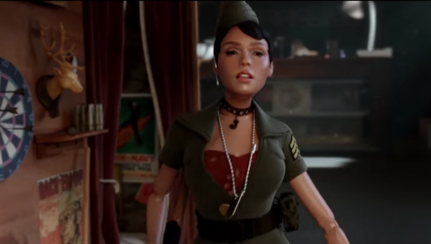 Watch A Miniaturized Janelle Monáe In The Fantastical Trailer For Welcome To Marwen
