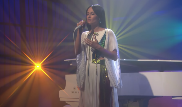 Kacey Musgraves Performs 'Rainbow' On 'The Late Show': Watch - Stereogum