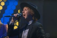 Watch Beck Perform &#8220;Colors&#8221; and &#8220;Wow&#8221; on <em>Colbert</em>