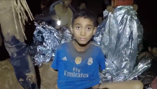 Rescue Doctor's Record Label Shares First Video Of Boys Trapped In Thailand Cave