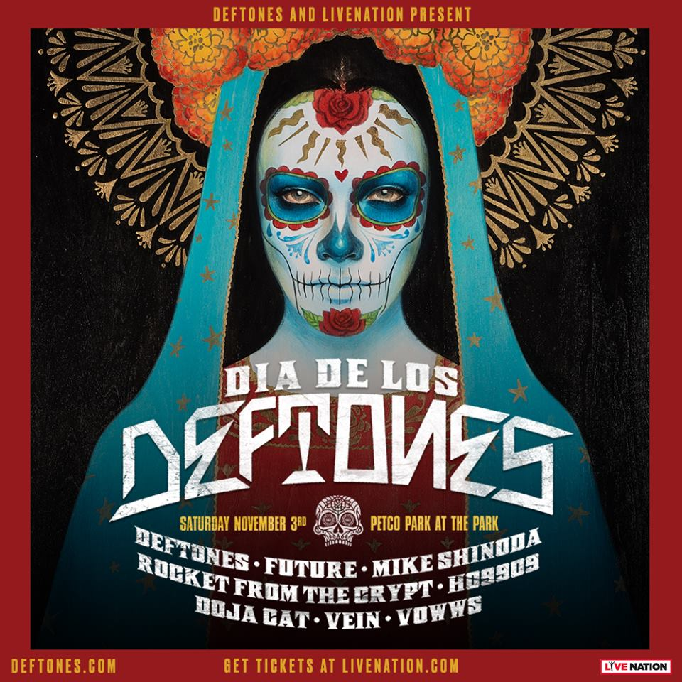 Deftones Announce Día De Los Deftones Fest With Future, Mike Shinoda, Rocket From The Crypt