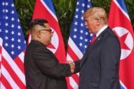 """Donald Trump Sends Kim Jong-un A """"Rocket Man"""" CD"""
