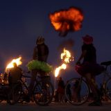 Burning Man Wants Attendees To Poop In Bags This Year