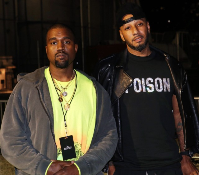 Swizz Beats Is Sitting On A New Track With Bono & Kanye