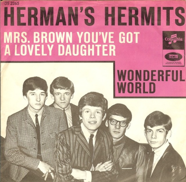 Hermans-Hermits-Mrs-Brown-Youve-Got-A-Lovely-Daughter