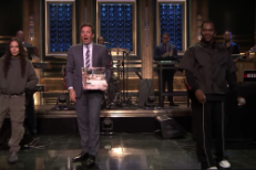 Pusha T on Tonight Show video