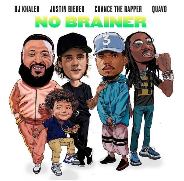 "DJ Khaled - ""No Brainer"" (Feat. Justin Bieber, Chance The Rapper, & Quavo)"