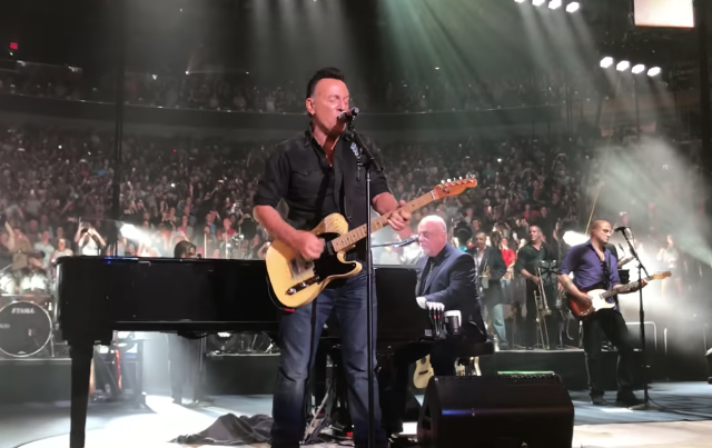 Billy Joel Brings Out Springsteen At His 100th Msg Show Watch Stereogum