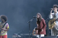 "Watch Vampire Weekend Cover ""The Boys Are Back In Town"" With Danielle Haim"
