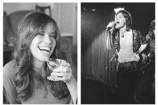 Carly Simon & Mick Jagger
