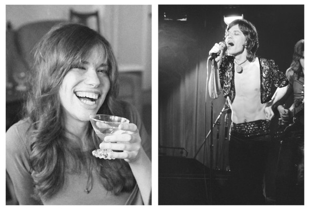 Carly Simon & Mick Jagger