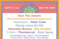 Adult Swim Announces Festival With Flying Lotus, Run The Jewels, Mastodon, &#038; Orchestral <em>Rick And Morty</em>