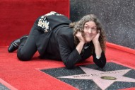 """Weird Al"" Yankovic Receives Star On The Hollywood Walk Of Fame, Asks People Not To Pickaxe It"