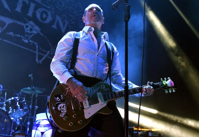 Social Distortion frontman punches on with Trump supporter