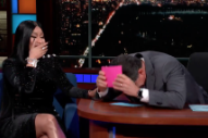 "Watch Nicki Minaj Add A Verse About Stephen Colbert To ""Barbie Dreams"""