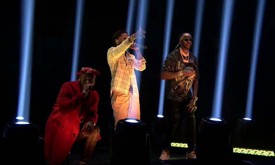 YG Gets Kicked Off Plane, Performs On Fallon With Big Sean & 2 Chainz