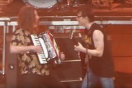 "Watch ""Weird Al"" Yankovic Join Weezer On ""Africa"" In LA"