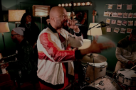 "Watch August Greene (Common, Robert Glasper, & Karriem Riggins) Cover ""Livin' On A Prayer"""