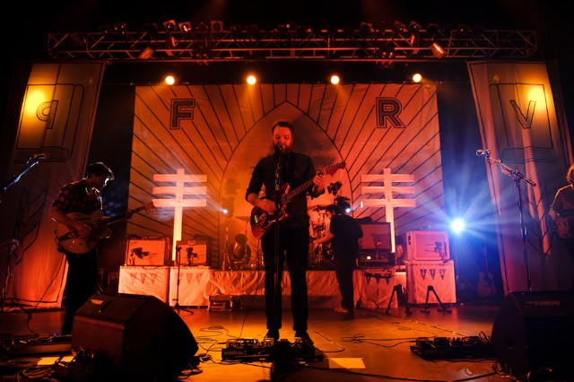 Frightened Rabbit Perform At The Forum