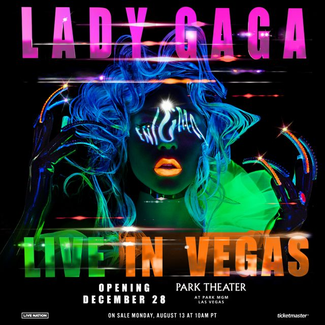 Lady Gaga's Vegas Residency At Park Theater: All The Details - Stereogum