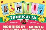 Morrissey, Cardi B, Kali Uchis Headlining Tropicália Music & Taco Festival 2018