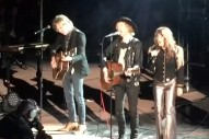 "Watch Beck & Jenny Lewis Cover Neil Young's ""Harvest Moon"" At Red Rocks"