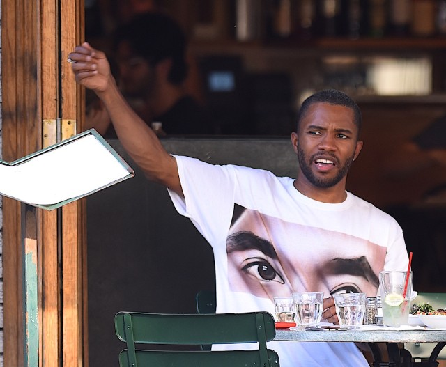 Frank Ocean Clears Up Cease and Desist to Travis Scott Over Verse