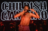 Watch Childish Gambino Debut A New Song At MSG