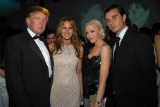 Donald Trump, Melania Trump, Gwen Stefani, Gavin Rossdale