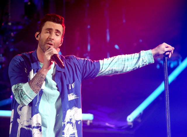 Maroon 5 Performing At 2019 Super Bowl
