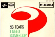 "The Number Ones: ? And The Mysterians' ""96 Tears"""