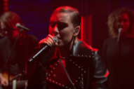 Watch Lykke Li Sing &#8220;Sex Money Feelings Die&#8221; On <em>Seth Meyers</em>